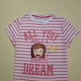 Яркая футболка yd by primark 8-10 лет