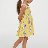Детское платье H&M 35812 Единороги