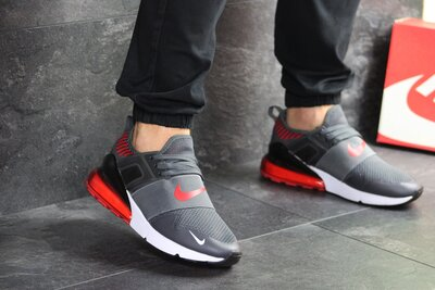 Кроссовки мужские Nike air max gray 8026