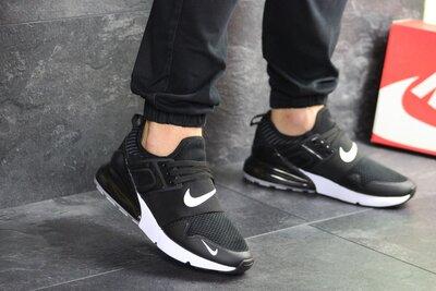 Кроссовки мужские Nike air max black/white 8025