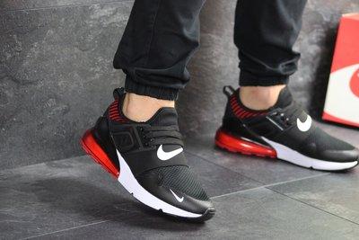 Кроссовки мужские Nike air max black/red 8022