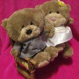 Свадебная пара.весільна пара.ведмідь.мишка.мягкие игрушки.мягка іграшка.Card Factory.Hugs