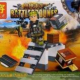 Конструктор LELE 36020 Battlegrounes, 82 дет.