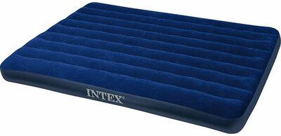 Надувной матрас Intex 137-191-22 см велюровое покрытие