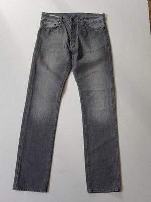 Серые джинсы 31/34 раз