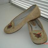 Мокасины туфли 5 24,5 см