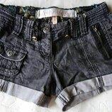 Шорты р.44 River Island джинсовые темно-серые