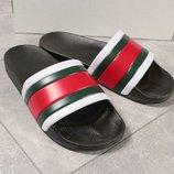 Шлепанцы Gucci 40, 41.42.43.44.45.46 размер новинка пляж бассейн