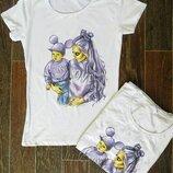 Женские футболки с принтом. Хит 2019