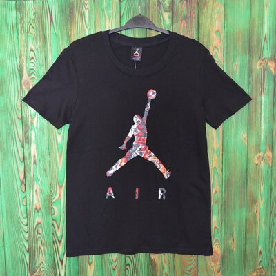 Футболка Supreme x Jordan черная унисекс.