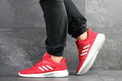 Adidas Climacool кроссовки мужские демисезонные красные 8030