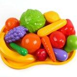 Набор фруктов и овощей Технок с подносом, арт. 5347