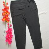 Фирменные летние стильные модные брюки с поясом-бантом Zara Basic.