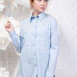 Рубашка блуза для девочки