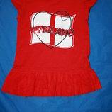 Красивое красное платье ф.Young Dimensionдля ребенка 2/3лет в отличном
