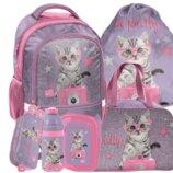 Школьний набор с котиком для девочки