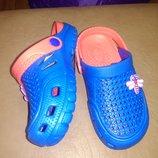 Пляжные босоножки 24-31 р. кроксы, сандалии, крокси, сетка, босоніжки, сандалі, пенка, бассейн