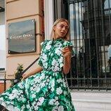 Платье красивое «Аннет цветы»