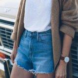 Женские короткие шорты с Испании от Fishbone . Модный бренд. Высокая посадка. Размер М. Джинс плот