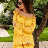 Платье легкое воздушное много расцветок