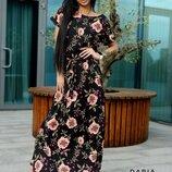 Платье 3 цвета 42-44, 46-48 размеры