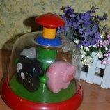 Развивающие игрушки, игрушки для самых маленьких, игрушки, детская карусель, карусель, погремушки