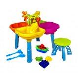 Столик-Песочница для игр с песком и водой 01-122