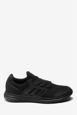 Черные кроссовки для бега adidas Galaxy 4