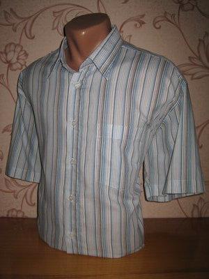 Рубашка мужская. Размер xl см. замеры . Milano. В отличном состоянии
