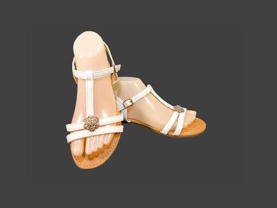 Женские босоножки сандалии, белые. Размер 36-41.