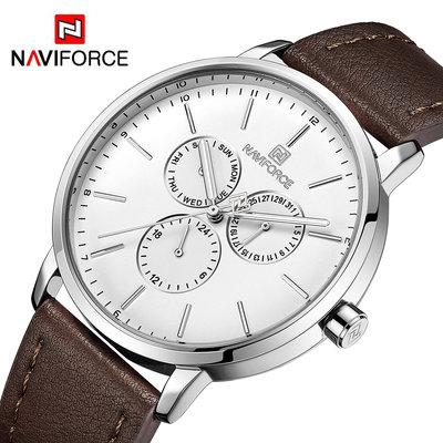 Мужские часы Naviforce Business 3001 SW-NF3001 / Гарантия 12 месяцев, Чоловічий годинник Навифорс