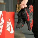 Кроссовки Nike React Element 55 Black Solar Red