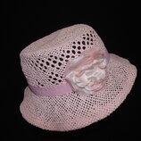 6-8лет.Гламурная шляпка с мерцанием H&M объём 50-52см.мега выбор обуви и одежды