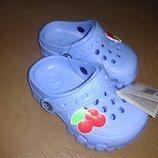 Пляжные босоножки 18-23 р. кроксы, сандалии, крокси, пенка, босоніжки, сандалі, бассейн, розовые