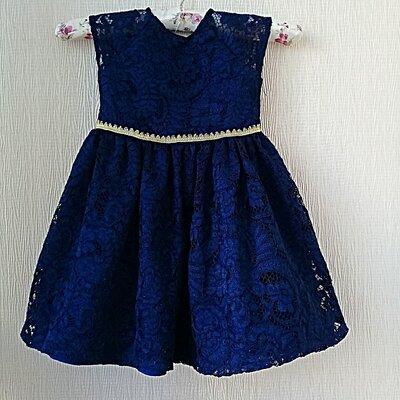Кружевное платье на девочку 3 года Laura Ashler