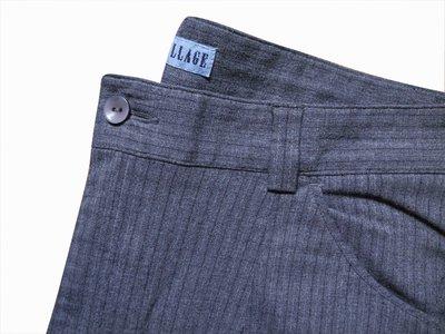 Мужские штаны брюки в полоску стрейч Greenvillage M