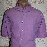 Рубашка мужская. размер l смотрите замеры . canda. в отличном состоянии
