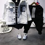 Джинсовая курточка р. 90-120