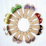 Натуральные кожаные женские шлепанцы шлепки BLESK 34,35,36,37,38,39,40,41,41