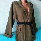 Женский пиджак Bershka новый с поясом