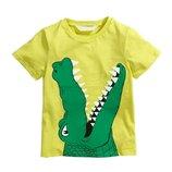 Футболка Крокодил 2-7 лет