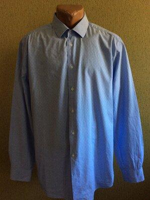 Мужская рубашка NINA RICCI slim fit оригинал размер 44 17 1/2