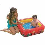 Детский надувной бассейн Intex 57101 Тачки, квадратный