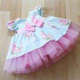 Нежное нарядное платье на девочку