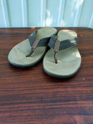Crocs вьетнамки,размер 11...