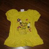 Фирменная яркая туника платье на 2-3 года идеал
