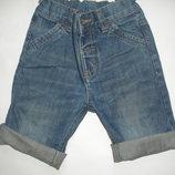 Фирменные джинсовые шорты на 2-4 года идеал