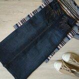 S Женская юбка миди джинсовая бренд