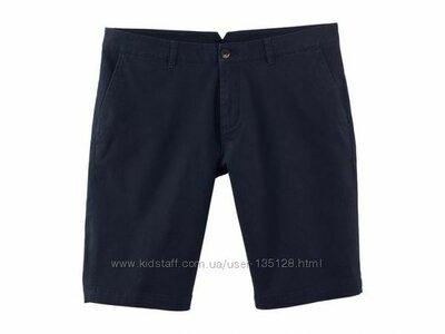 Хлопковые мужские шорты твил,бермуды Livergy Германия