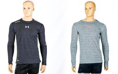 Компрессионная мужская футболка с длинным рукавом Under Armour 03-1 размер M-3XL 165-190cм
